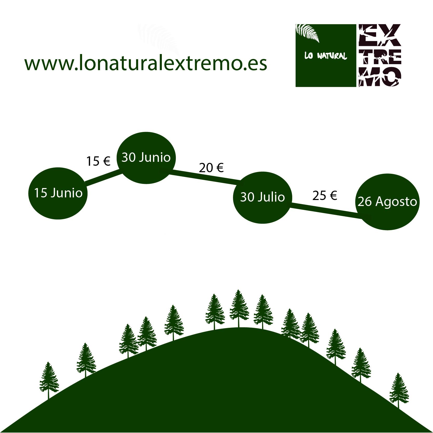 La IV edición de Lo Natural Extremo abre inscripciones el 15 de Junio